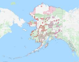 Alaska Section Township Range Map thumbnail