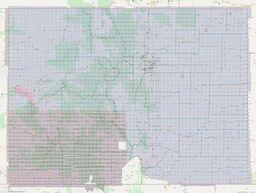 Colorado Section Township Range Map thumbnail