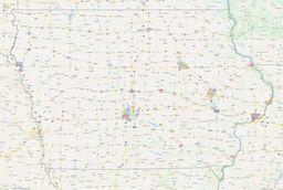 Iowa City Limits Map thumbnail
