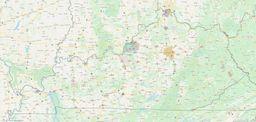 Kentucky City Limits Map thumbnail