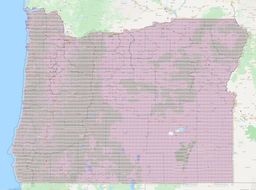 Oregon Section Township Range Map thumbnail