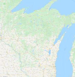 Wisconsin Section Township Range Map thumbnail