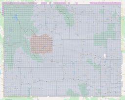 Wyoming Section Township Range Map thumbnail