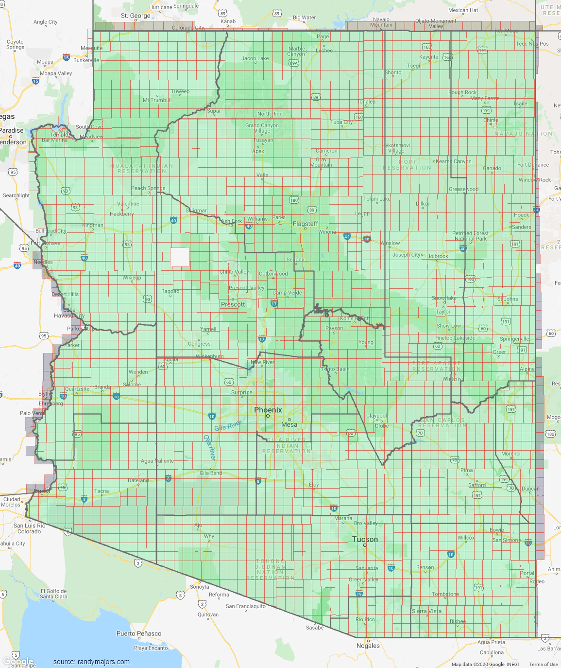 Section Township Range Maps by State