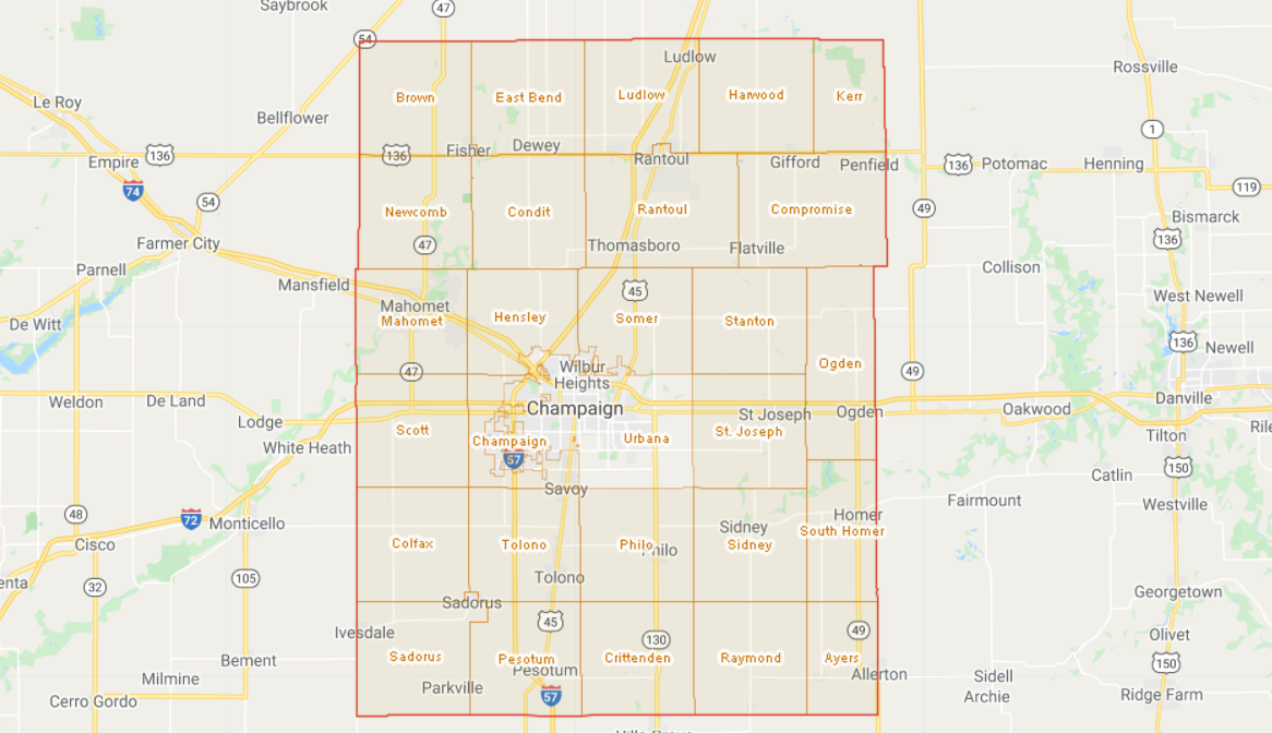 Individual County Maps of Civil Townships