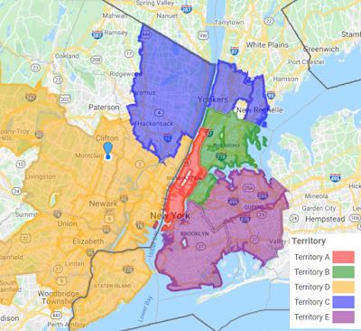 Custom Areas from 3-digit ZIP Codes