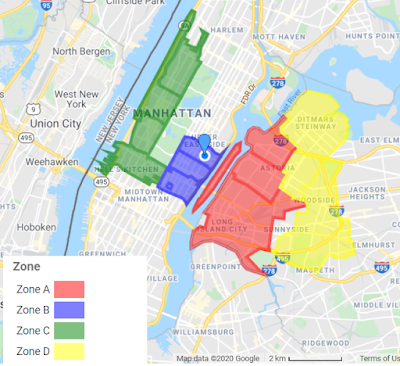 Custom Color Coded Map using 5-digit ZIP Codes