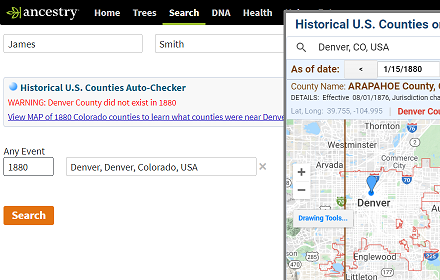 Historical U.S. Counties Auto-Checker free version