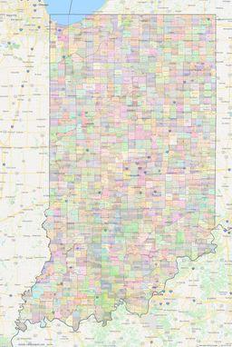 Indiana Civil Townships thumbnail