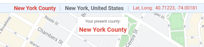 what county am I in